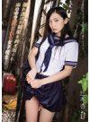 辻本杏 「濡れ透けた制服を剥ぎ取られ雨の中で犯される女子校生」 サンプル動画